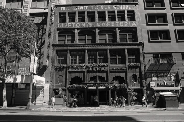 Clifton's Cafeteria, Downtown LA